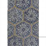 Star Flower Hexagon, Cobalt - Collections - Timeless Tile & Designs