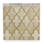 Deseo 7 Parchment Seafoam 2x6 Chair Rail Seafoam - Collections - Timeless Tile & Designs