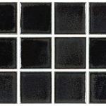 Black Color Glazes Variation Hand Made Artisan Timeless Tile & Designs