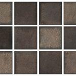 Hammered Bronze Color Glazes Variation Hand Made Artisan Timeless Tile & Designs